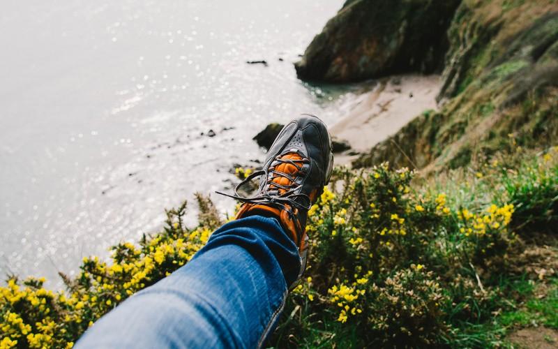 Schuh Höhe